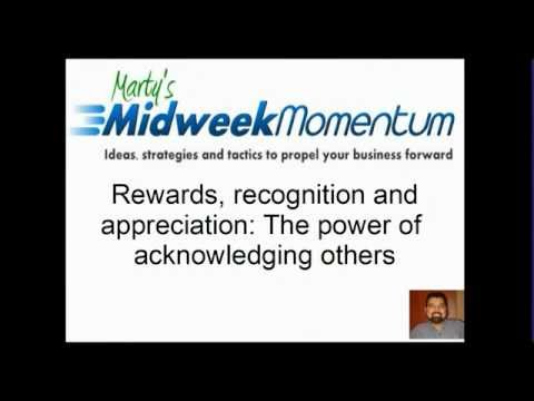 Midweek Momentum: Rewards, recognition and appreciation - The power of  acknowledging others