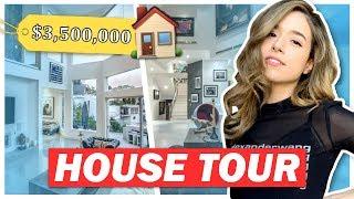 $3,500,000 MANSION House Tour + Surprise Party 😱 Pokimane