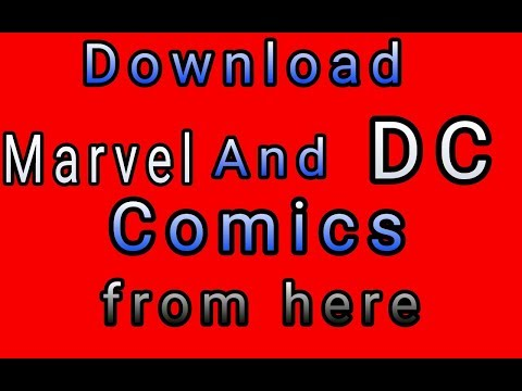 Download marvel and DC Comics free