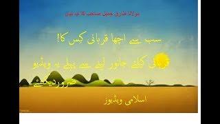 qurbani bayan by Molana tariq jameel Saib, sab se acha qurbani avi222