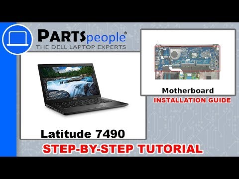 Dell Latitude 7490 (P73G002) Motherboard How-To Video Tutorial