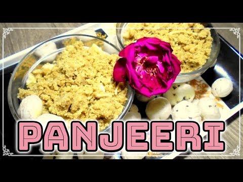 Panjiri Recipe for Pooja | How to make Panjiri Simple & Fast Way | (Sudha Rani Gupta)