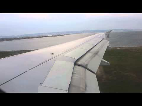 Landing Marseille airport