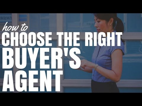 How To Choose The Right Buyers Agent