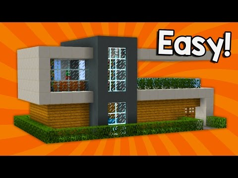MINECRAFT: How to build modern house | Best house tutorial | PS3/PS4/XBOX360/MCPE/PC