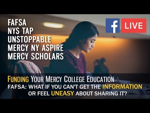 FB LIVE: What if  financial aid information is unavailable or you're uneasy about disclosing it?