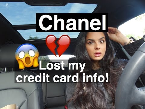 Vlog | Chanel lost my Credit Card info!