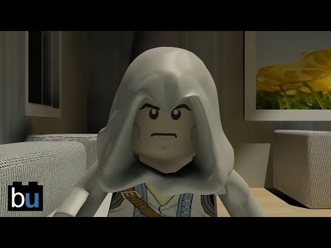 LEGO Assassin's Creed Parkour Animation