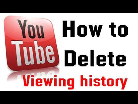 Delete YouTube Watch History
