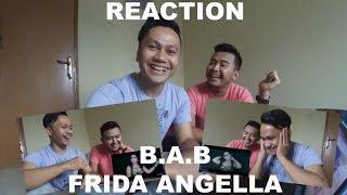 FRIDA ANGELLA - B.A.B (BECEKIN ADEK BANG) - Official Music Video - Leora Musik Indonesia [REACTION]