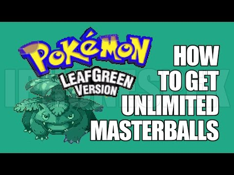 How to get Unlimited Masterball Pokemon Leaf Green GBA4IOS iOS 11 10 9 iPhone iPad