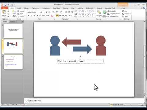 How to draw diagrams in PowerPoint
