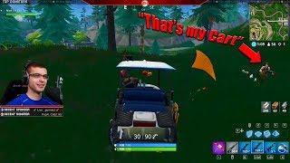 This is why you should never leave your Golf Cart unattended...