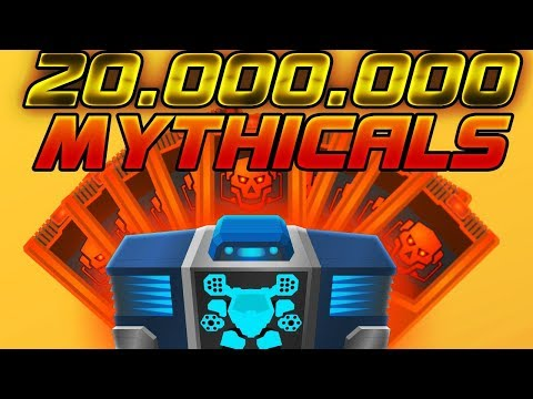[SuperMechs] 20.000.000 SM COINS SPEND!!! 500 MIX BOX OPENING!!! DROP MYTH ITEMS!!!