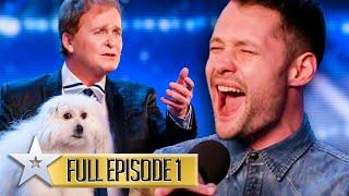A GOLDEN BUZZER debut for Callum Scott! | Britain's Got Talent | Series 9 | Episode 1 | FULL EPISODE