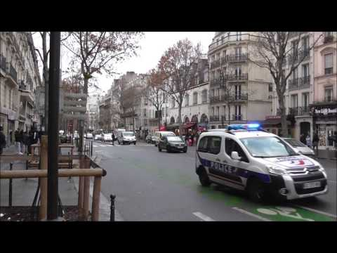 Police en Urgence Dans Paris ( Compilation ) Police In Paris Responding