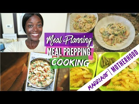 Meal Plan, Meal Prep, and Cook with me | WORKING MOM WEEKLY ROUTINE| Marriage & Motherhood