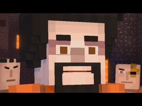 Just a YTP. | Minecraft Story Mode - Season 2 (Episode 3) (Try Not To Laugh??)