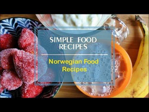 Norwegian Food Recipes