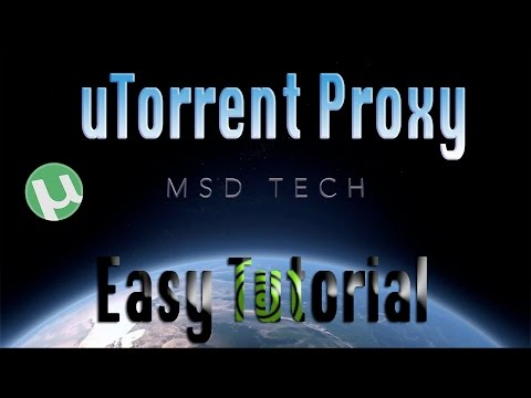 How To Proxy uTorrent - The Free Way | Easy Tutorial - HideMyAss Anonymousy