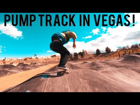 HOW TO LONGBOARD A PUMP TRACK IN LAS VEGAS HUNGOVER