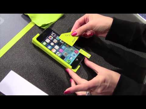 Tylt Alin Screen Protector Applicator Tool - CES 2014