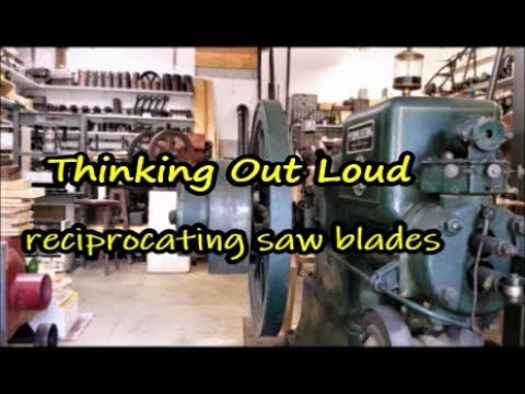 Thinking Out Loud saw blade question
