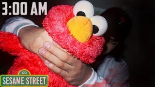 DO NOT PLAY WITH ELMO AT 3:00 AM   *THIS IS WHY*   3 AM ELMO CHALLENGE! (ELMO WANTS TO PLAY?)