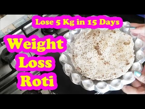 रोटी खाकर वजन घटायें  | Weight Loss Roti | Lose 5 Kg in 15 Days | Weight Loss Diet | Pooja Luthra