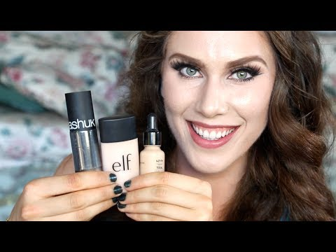 3 Acne Foundations Under $15 & Cruelty Free! The Best Drugstore Foundations For Acne Prone Skin