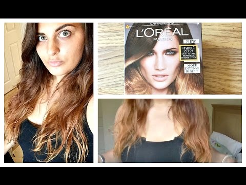 How To Dye Your Hair Ombre At Home - Hair Tutorial DIY
