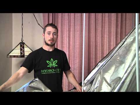 Hydro-City: Setting up your Indoor Grow Tent