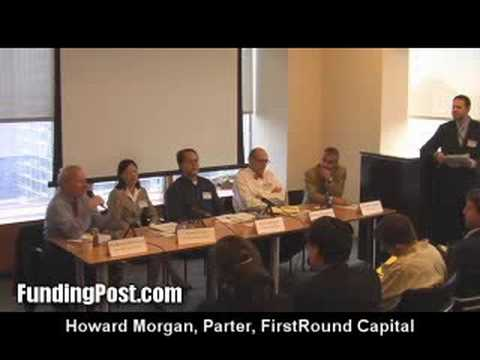 Howard Morgan of First Round Capital at a FundingPost event
