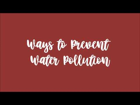 Ways to Prevent Water Pollution