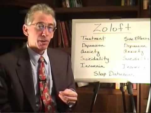 Zoloft: Treatment and Side Effects