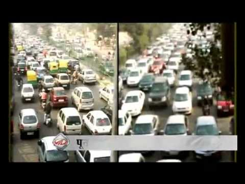 What causes traffic jams in India?