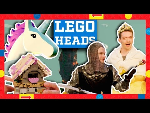 Building a LEGO Fairy Tale Castle in Real Life vs. LEGO Worlds - LEGO Heads