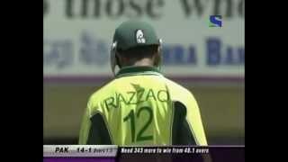 Abdul Razzaq smashes India 88 (13 4
