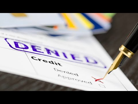 Declined for a credit card? It's possible you've been blacklisted.