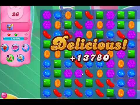 Candy Crush 763 Hard Level 3 Stars Mort's Most Powerful Helmet