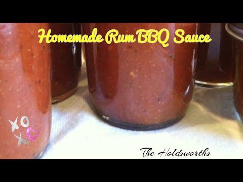 Homemade Rum BBQ Sauce