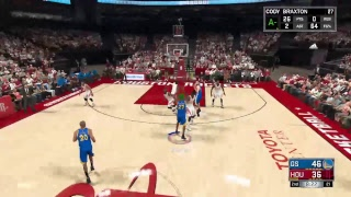 NBA 2k17 gameplay ps4(rubiks cube guy 5285)