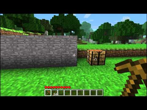 Minecraft - How To Make a Stone Axe
