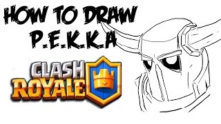 How To Draw P E K K A Clash Royale Music Jinni