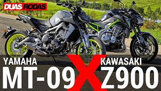 Download COMPARATIVO   YAMAHA MT-09 x KAWASAKI Z900 Video