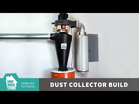 Harbor Freight Dust Collector Mod w/ Super Dust Deputy XL - Updated
