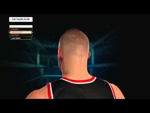 NBA 2K15  MyPlayer Hair/Facial Hair