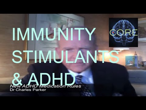 Casein, Gluten, Immunity and ADHD Medications
