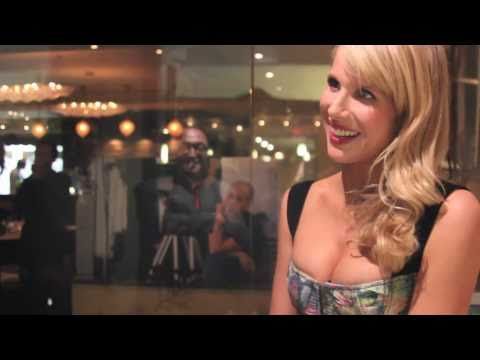 Exclusive:  Sony Pictures Classics TIFF 2010 Party - Roger Friedman interviews Lucy Punch