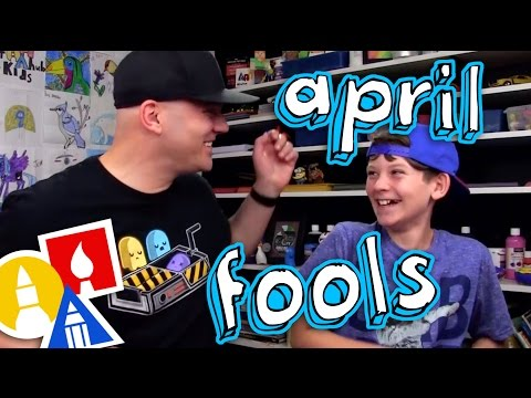Happy April Fools Bloopers!